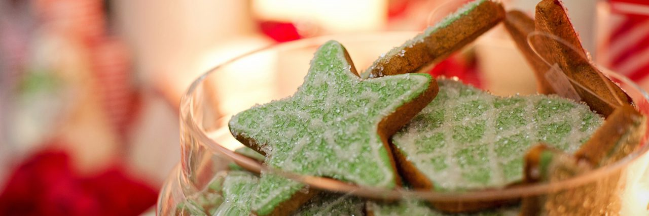 star shape christmas cookies