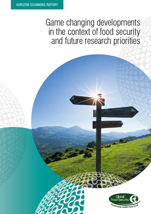 Horizon scanning report: Game changing developments in the context of food security and future research priorities