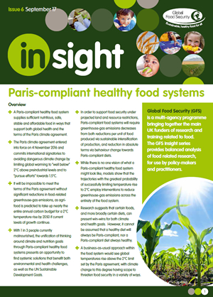 Insight: Paris-compliant healthy food systems