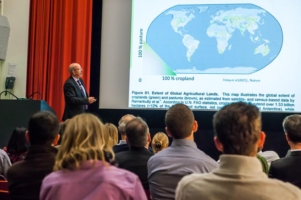 Tim Benton talking about food security