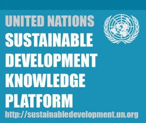 United Nation's Sustainable Development Knowledge Platform