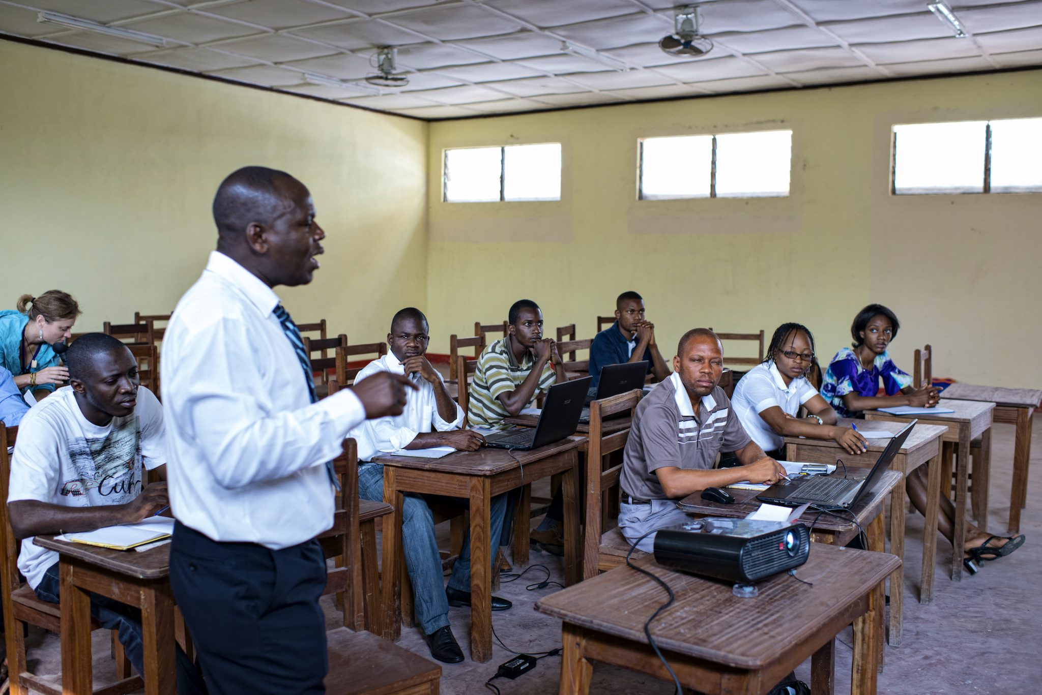 MSc students at the University of Science of Kisangani, Democratic Republic of Congo