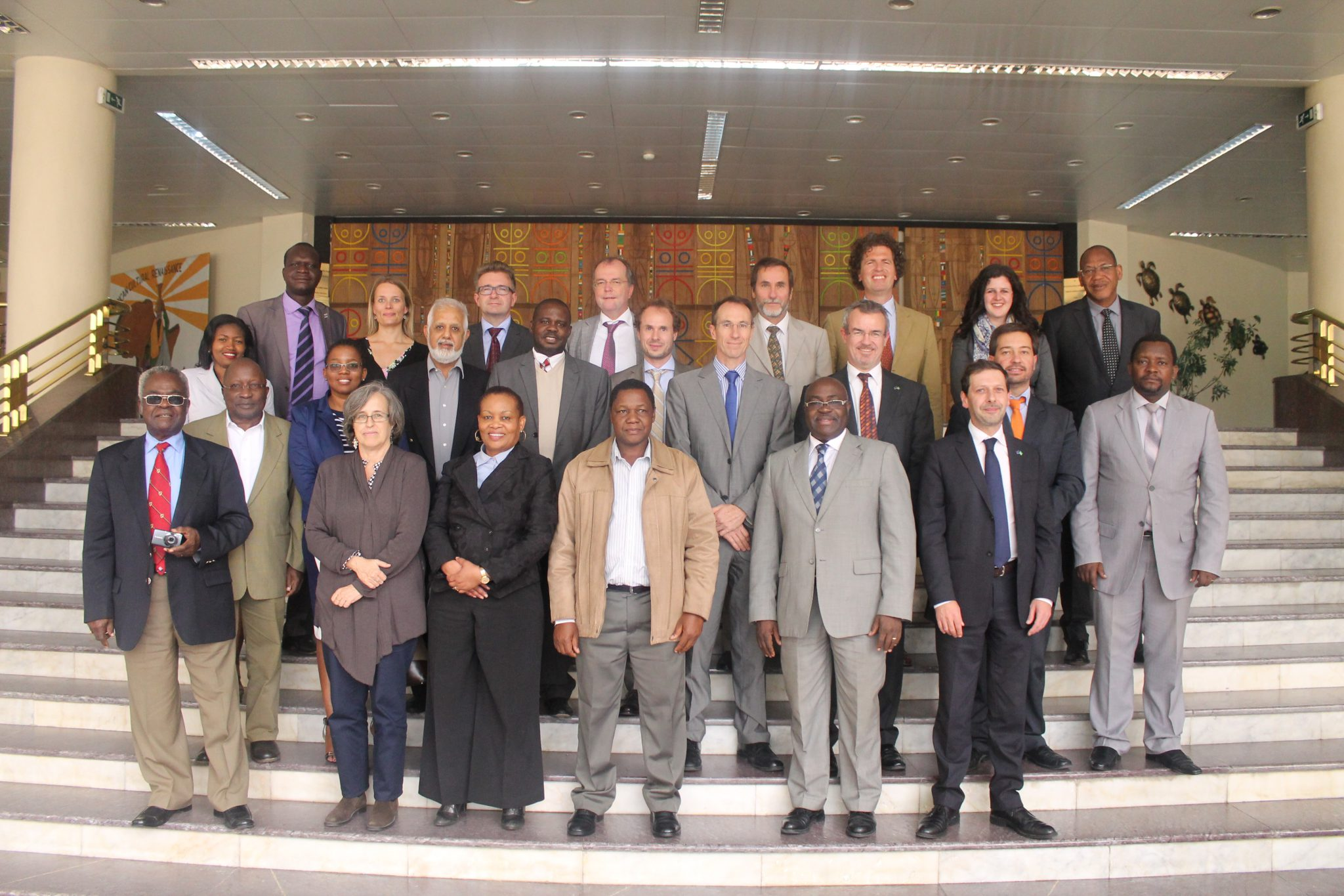 HLPD Bureau members and experts at a recent meeting in Addis Ababa, Ethiopia