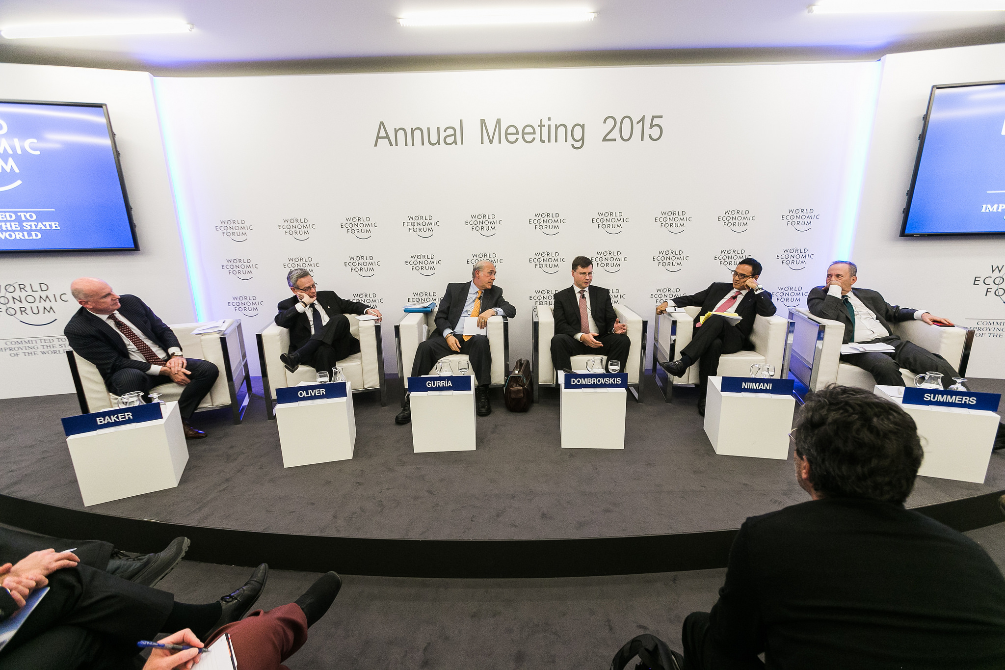 Annual Meeting 2015 of the World Economic Forum in Davos, Switzerland
