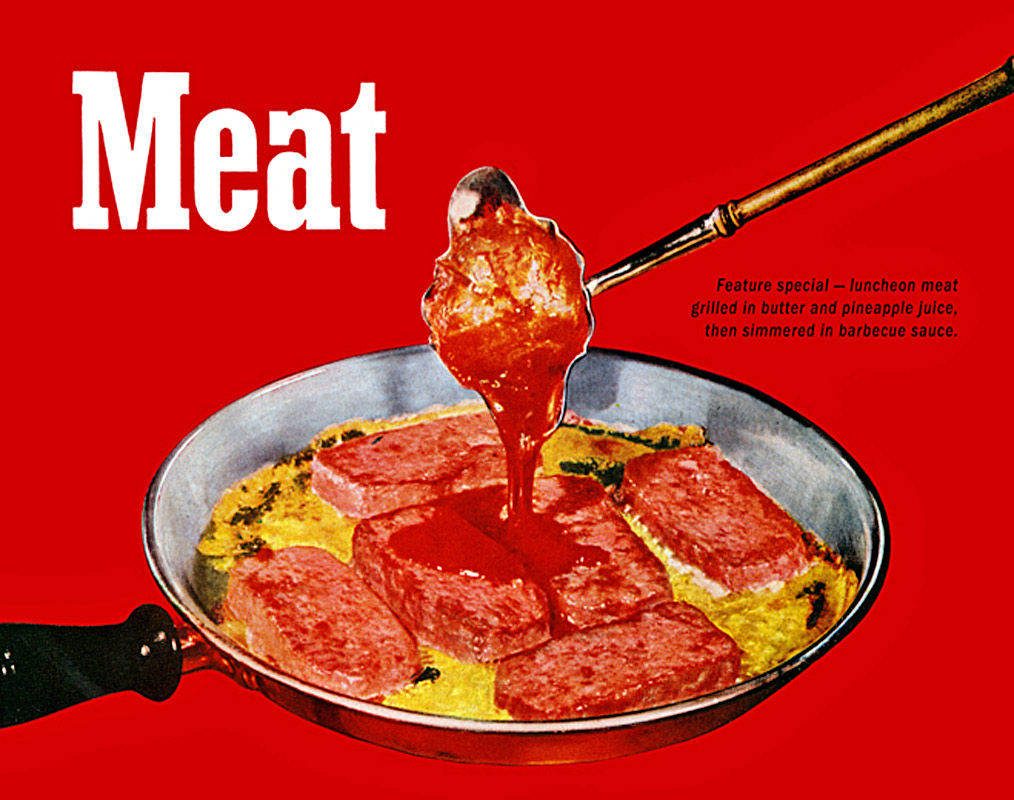A meat advertisement from 1947