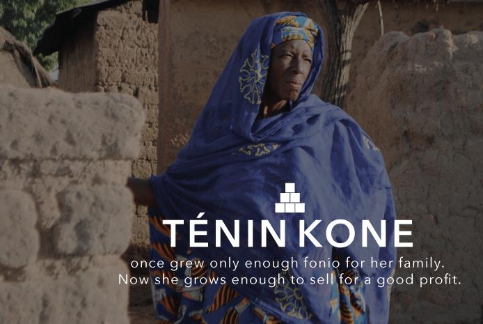 Farmer Ténin Kone in Mali