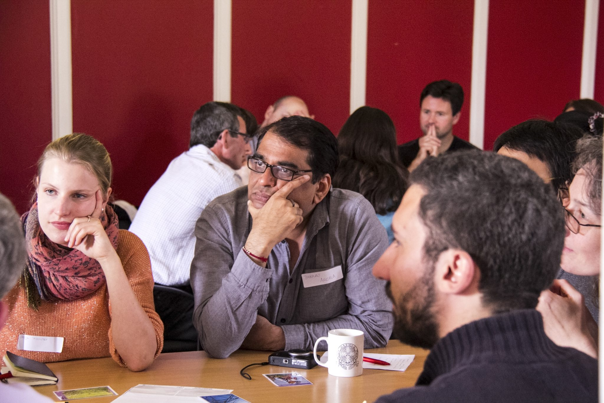Participants in a public dialogue exercise