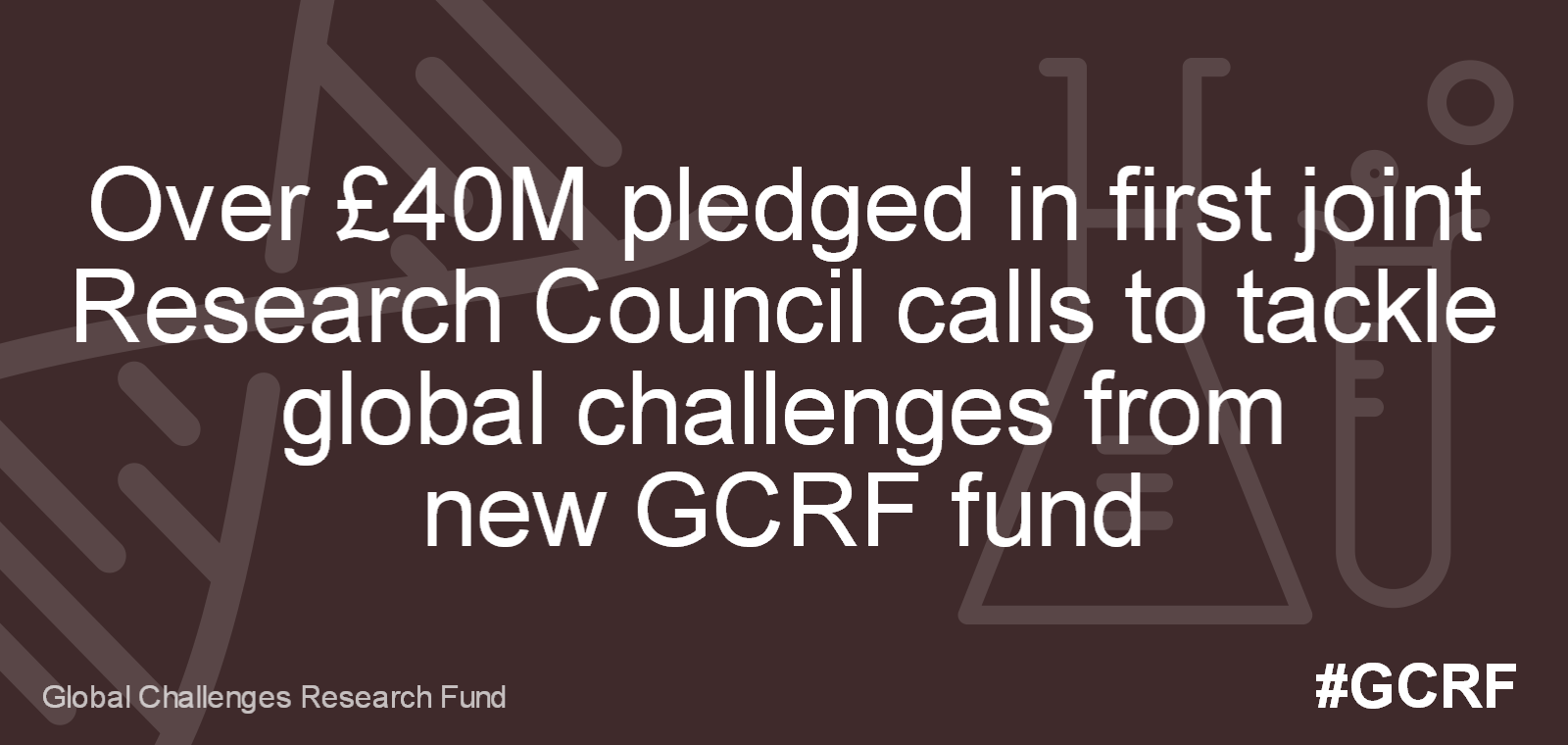 Over £40M pledged in first joint Research Council calls to tackle global challenges from new GCRF fund