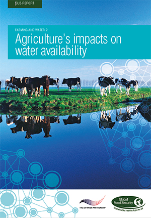 Agriculture's impacts on water availability