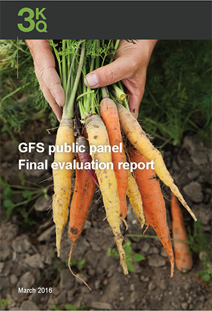 GFS Public panel - Final evaluation report