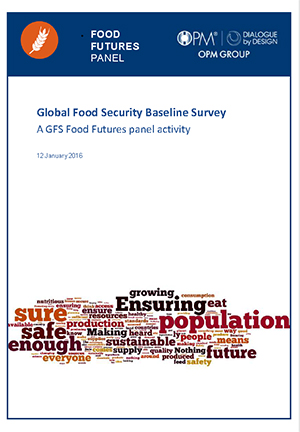 Food Futures Panel: Global food Security baseline Survey