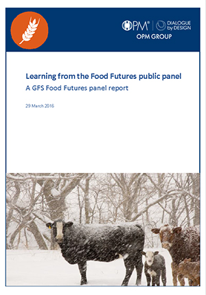 Food Futures Panel: Learning from the Food futures panel