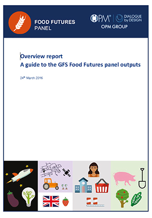 Food Futures Panel: Overview report, a guide to the GFS Food futures panel outputs