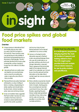 Insight: Food price spikes and global food markets