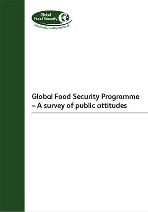 GFS Programme - A survey of public attitudes
