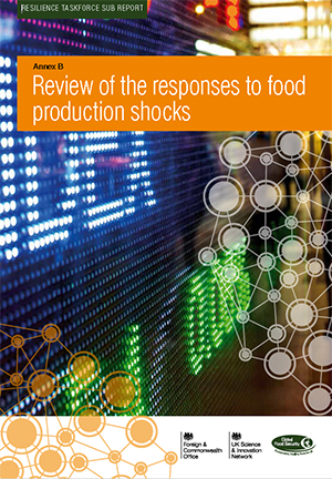 Review of the responses to food production shocks