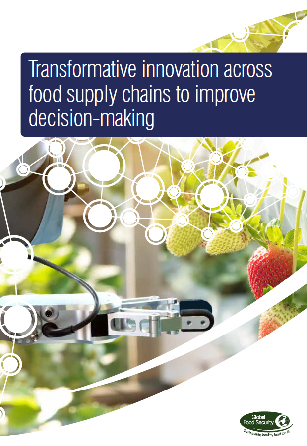 Transformative innovation across food supply chains to improve decision-making